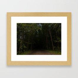 Unexplored Territory Framed Art Print