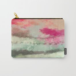 Pink kissed Ocean Carry-All Pouch