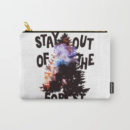Murderino - Stay Out Of The Forest! Carry-All Pouch