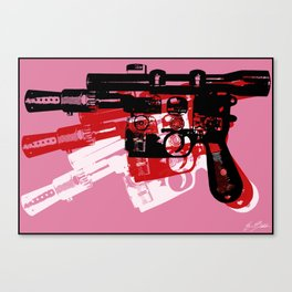 Blaster Canvas Print
