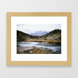 Hot Creek Framed Art Print