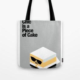 Piece of Cake Karl Tote Bag