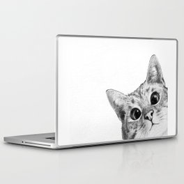 sneaky cat Laptop & iPad Skin