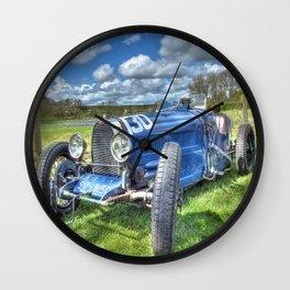 Grand Prix Vintage Sports car Wall Clock
