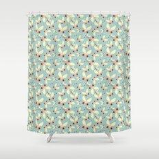 Sweet Butterflies Shower Curtain