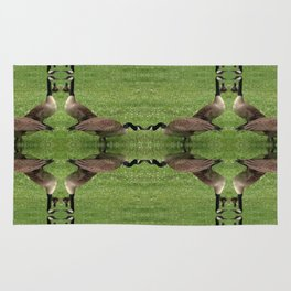 Chicago Geese 3 Rug