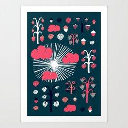 september dark Art Print
