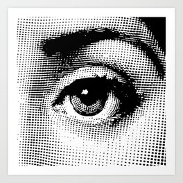 Lina Cavalieri Eye 02 Art Print