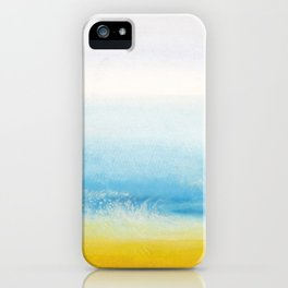 Waves and memories iPhone Case