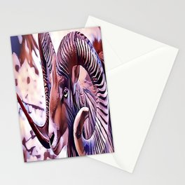 The Bighorn sheep Stationery Cards