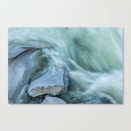 Marble River Run Canvas Print