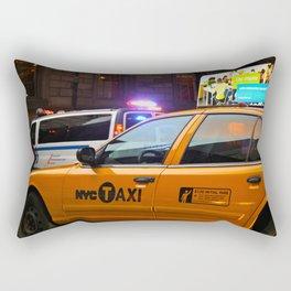 Taxi Service Rectangular Pillow