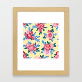 Summer Picnic Framed Art Print