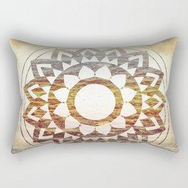 Nature Atmospheric Mandala 02 Rectangular Pillow