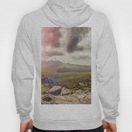 Ireland Mountain Landscape Panorama Hoody