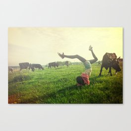 Closely. Canvas Print