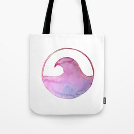 Ombre wave Tote Bag