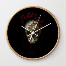skull#01 Wall Clock
