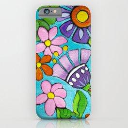 Springtime Series #5 Singing Bird iPhone Case