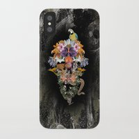 animal skull iPhone & iPod Cases featuring ANIMAL SKULL by sametsevincer