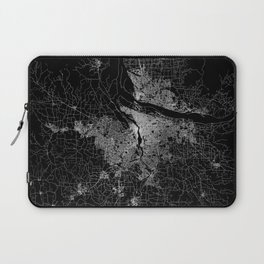 portland map Laptop Sleeve