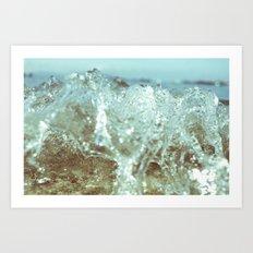 Big Splash 04 Art Print