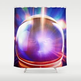 Gamma Ray Diaries Shower Curtain