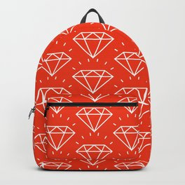 DIAMOND ((cherry red)) Backpack