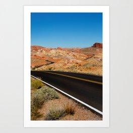 Valley of Fire, Nevada. Art Print