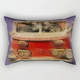 Sketchy vintage toy II Rectangular Pillow