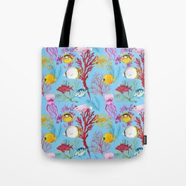 Coral Reef - All Together Water Tote Bag