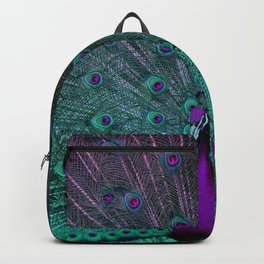 BLOOMING PEACOCK Backpack