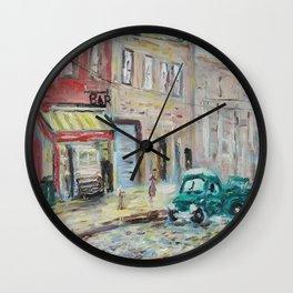 Harlem Blues Bar Wall Clock