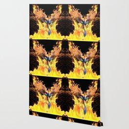 Flames of Life Wallpaper