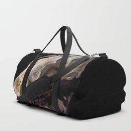 Raccoon Skull Reflection Duffle Bag