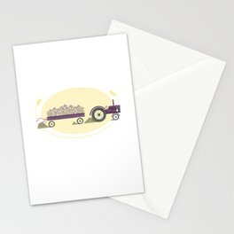 Hitched & Truckin' Stationery Cards