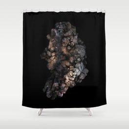 Macro/Micro II: Milky Way Rebirth Shower Curtain