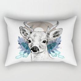 The Deer (Spirit Animal) Rectangular Pillow