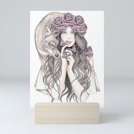 Shadow Wolf Mini Art Print