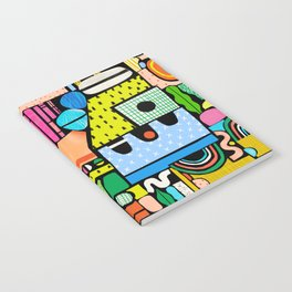 Color Block Collage Notebook