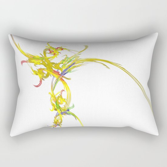 Spiritual Flower Rectangular Pillow