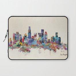 los angeles california skyline Laptop Sleeve