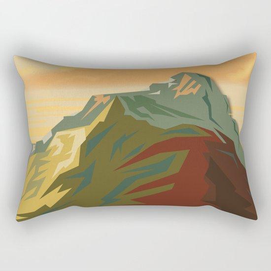 Night Mountains No. 44 Rectangular Pillow