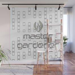 Master Gardener Logo Wall Mural