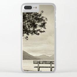 Lagoon Memories Clear iPhone Case