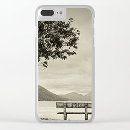 Lagoon Memories Clear iPhone Case