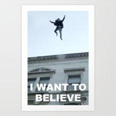 I Want to Believe in Sherlock Holmes Art Print