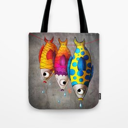 Fish Sale Tote Bag