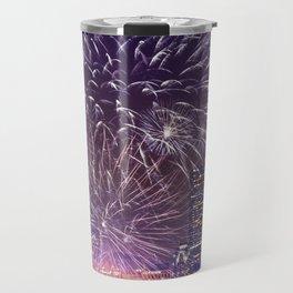 Massachusetts  July 4th Pops Fireworks Travel Mug