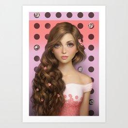 Candy Kiss Art Print